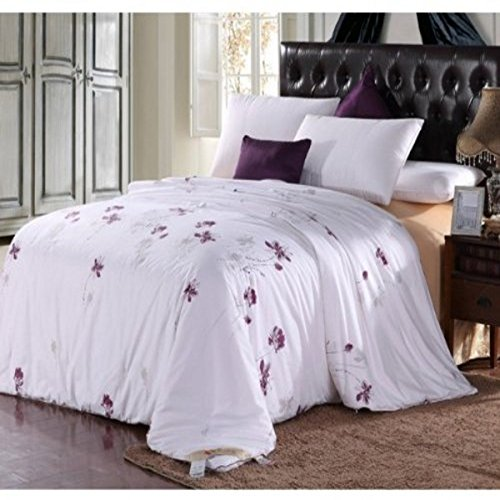 Soft Silker Silk Comforter The Most Perfect Hot Summer 100% All Natural National Standard Long Mulberry Silk Duvet King