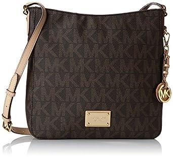 Michael Kors Handbag Jet Set Travel Large Messenger Bag Brown
