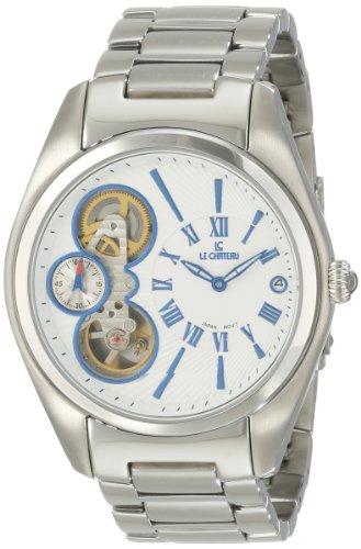 Le Chateau Men's 5704M_WHT Traviata Watch
