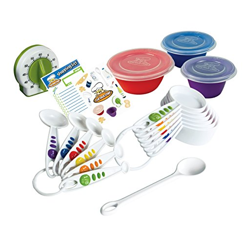 Curious Chef 17-Piece Measure & Prep Kit (Cooking Kids Set compare prices)