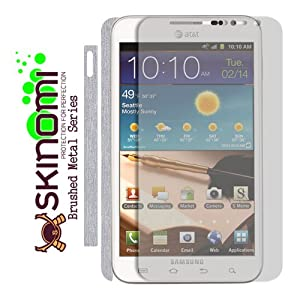Skinomi TechSkin brushed aluminum screen protector (US AT&T Version)