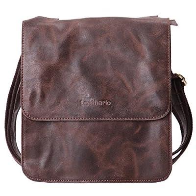 Leathario sacoche homme sac en cuir sac rétro sac vintage cartable en cuir pour hommes sacoche en cuir pour hommes sac porte épaule