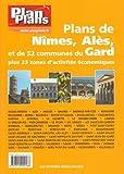 echange, troc  - Guide Plan Plans Gard-Nimes Ales Bagnols Sur Ceze-54 Plans des Principales Communes du Gard + 23 Zae