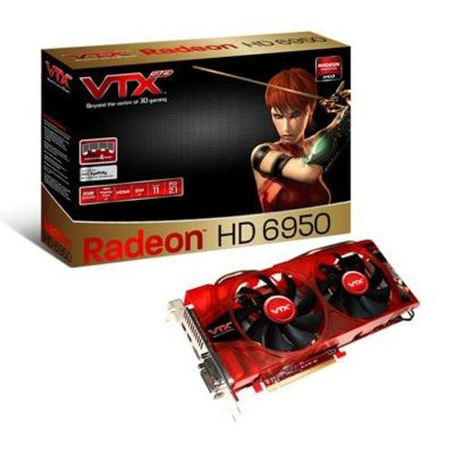 VTX3D 2GB Radeon HD 6950 PCI-E 2.1 Graphics Card