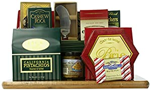 California Delicious Gourmet Meat and Cheese Gift Basket