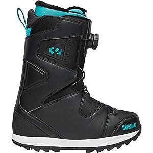 thirtytwo Women's Binary Boa 13 Inch Snowboard Boot,Black,5 D US