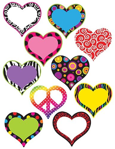 Teacher Created Resources Hearts Accents (5100)