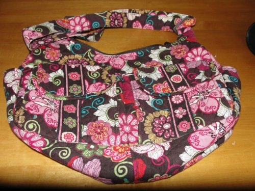 VERA BRADLEY CARGO SLING - MOD FLORAL PINK Pattern