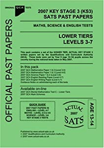 2007 key stage 3 ks3 qca sats past papers maths science. Black Bedroom Furniture Sets. Home Design Ideas