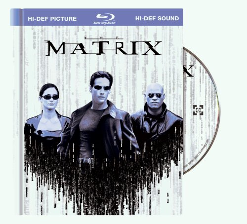 Cover art for  The Matrix (10th Anniversary Edition in DigiBook Packaging) [Blu-ray]
