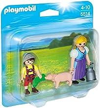 Comprar Playmobil Granja - Duo pack campesina y niño (5514)