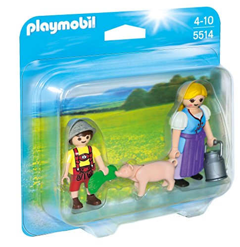 PLAYMOBIL Country Woman & Boy Duo Pack - 1