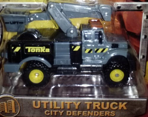 Tonka Metal Diecast Bodies Utility Truck City Defenders
