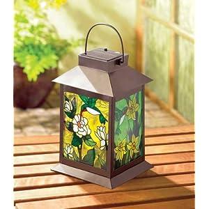 Solar Powered Hummingbird Lantern