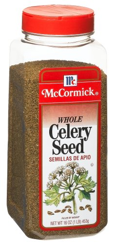 Buy McCormick Celery Seed, 16-Ounce Units (Pack of 3) (McCormick, Health & Personal Care, Products, Food & Snacks, Seasonings Herbs & Spices, Celery Seed)