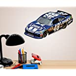 Nascar #48 Jimmie Johnson Lowes Car Fathead Teammate