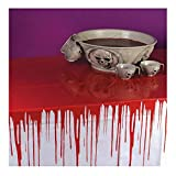 Bloody Halloween Horror Drip Large Tablecloth Cover Decoration