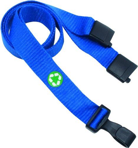 earth-friendly-lanyard-j-hook-style-36-long-blue-10-pack-sold-as-1-package