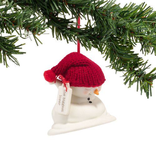 Department 56 Snowpinions The Biggest Loser Ornament, 3.5-Inch