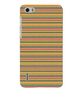 Janda Flag Pattern Cute Fashion 3D Hard Polycarbonate Designer Back Case Cover for Huawei Honor 6