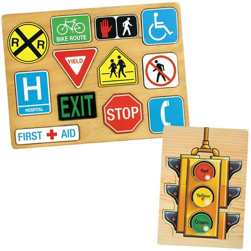 Traffic Sign Puzzle Set front-973184