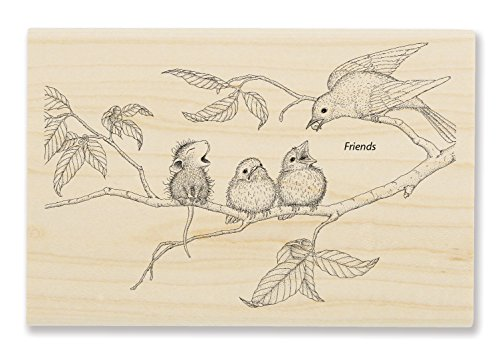 Stampendous Feeding Time Rubber Stamp