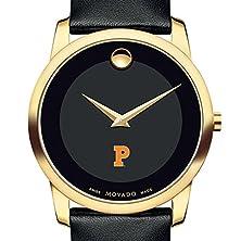 buy Princeton University Men'S Movado Gold Museum Classic Leather