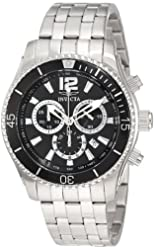 "Invicta Men's 0621 ""II Collection"" Chronograph Stainless Steel Watch"