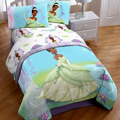 Princess And The Frog Twin Full Washable Light Up Princess And The Frog Sheets