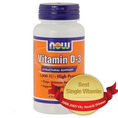 Now Vitamin D-3 - 1000 Iu 360 Softgels