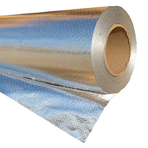 RadiantGUARD Ultima-FOIL Radiant Barrier Commercial Grade Breathable Attic Foil Insulation (1000 Square Feet Roll) U-1000-B (Foil For Windows compare prices)