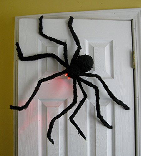 4 Ft. Black Hairy Spider