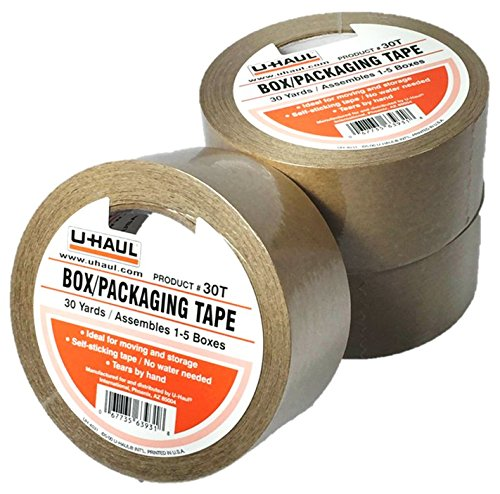3-rolls-of-u-haul-packaging-box-tape-30t-moving-tape-2-x-30-yards-ideal-for-moving-and-storage