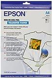 Epson C13S041154 - A4 T-SHIRT TRANSFER MEDIA - IRON ON COOL PEEL