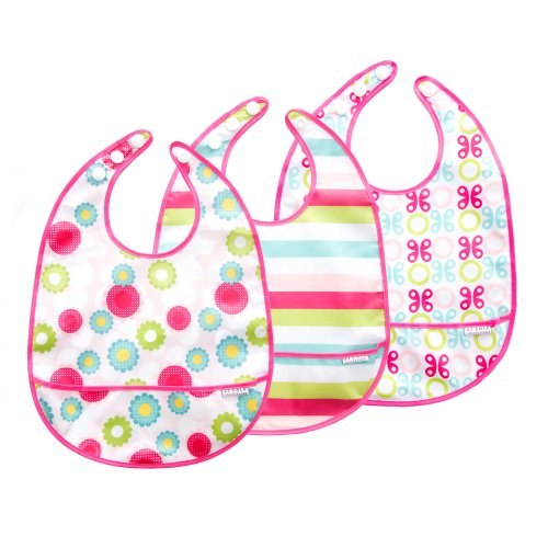 JJ Cole 3 Count Bib Set, Girl