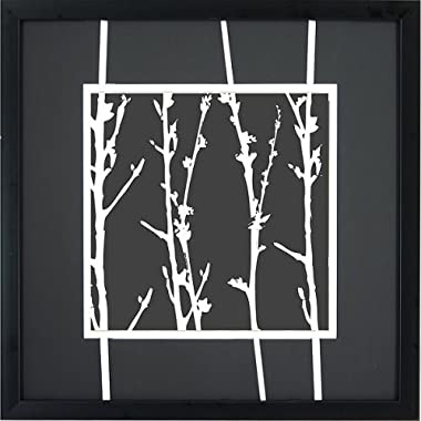 Product Image White Branches A Wall Art - 16x16""