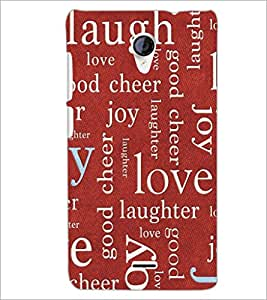 PrintDhaba Typography D-5467 Back Case Cover for MICROMAX A106 UNITE 2 (Multi-Coloured)