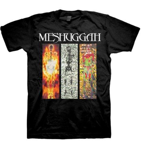 Meshuggah - Uomo Destroy Erase Improve T-Shirt In Nero, Size: Medium, Color:...