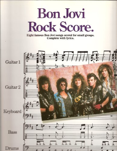 Rock Score: Note for Note Score for Small Groups, Score