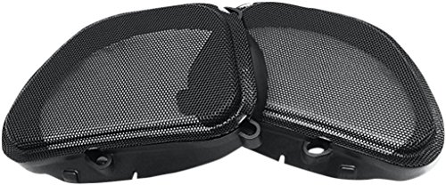 Hogtunes 57 MESH Replacement Front Speaker Grille (for 1998-2013 Harley-Davidson FLTR Road Glide Models) (2013 Road Glide Custom compare prices)