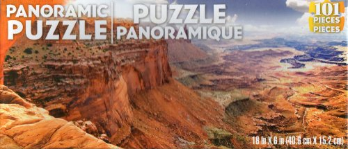 101 Piece Panoramic Jigsaw Puzzle - NEW 738076991624 - 1