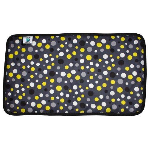 Planet Wise Designer Waterproof Diaper Pad, Bumble Dot