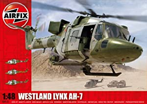 Airfix A09101 Westland Army Lynx AH1-7 1:48 Scale Series 9 Plastic Model Kit