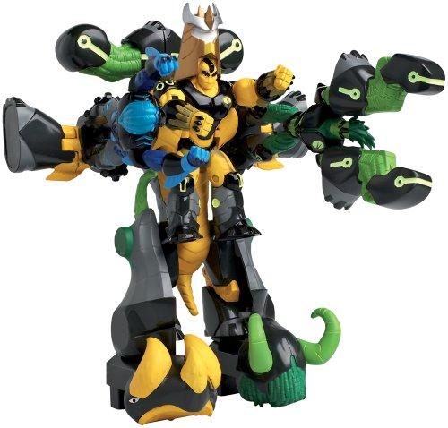 gormiti-tv3-7658-figurine-exoskeleton-25-cm-5-in-1-with-moving-body-parts