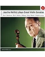 Jascha Heifetz plays Sonatas for Violin
