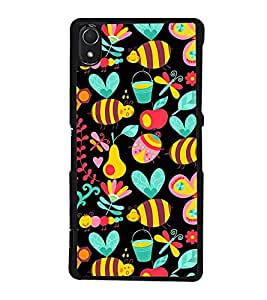 Cute Wallpaper 2D Hard Polycarbonate Designer Back Case Cover for Sony Xperia Z3 :: Sony Xperia Z3 Dual :: Sony Xperia Z3 D6633