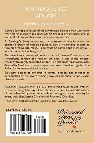 Antidote to Venom: A British Library Crime Classic (British Library Crime Classics)