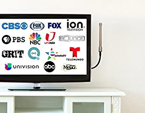 Best Small Indoor/Outdoor HDTV Antenna - Lifetime warranty - Diamond Image TV®