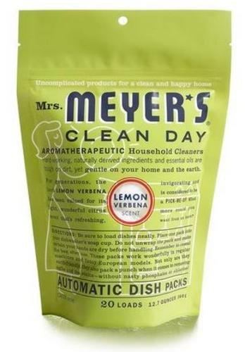 S C Johnson Wax 14264 20 Count Lemon Dish Pack dishwashing supplies (Meyers Dishwasher Packs compare prices)
