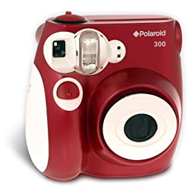 Polaroid 300 Instant Camera (Red)